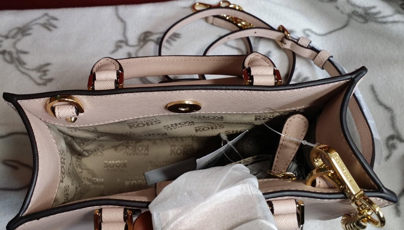 56b81aa2fe26 MICHAEL KORS Bridgette Small Crossbody satchel Leather various colors NWT