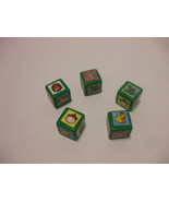 Safari YUM Additional Replacement Game Pieces Dice & Game Pieces - $3.20