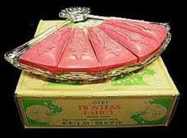 Avon Hostess Fancy Soap Dish & Fragranced Soaps NIB 1975 - $9.95