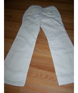 Girl's Size 7 Regular Gap Kids Boot Cut Stretch Corduroy Pants Off White... - $20.00
