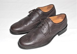 Cole Haan Brown Leather Wing Tip Brogue Oxford Shoe Men's Size 9 M - $62.72