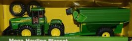 John Deere TBE45368 Mega Hauling Playset Pickup Trailer Skid Steer Tractor Cart image 3
