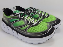 Hoka One One Conquest 2 Men's Running Shoes Size US 9.5 M (D) EU 43 1/3 Green