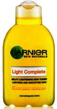 Garnier Light Complete Milky Lightening Dew Toner 150ml NEW - $19.80