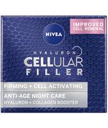 Nivea Hyaluron Cellular Filler Anti-Age Night Cream 50 ml - $44.89
