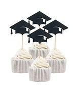 Betop House 12pcs Graduation Celebrating Themed Party Decorative Cupcake... - £10.51 GBP