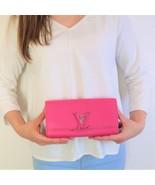 Louis Vuitton Taurillon Leather Capucines Wallet - $699.00