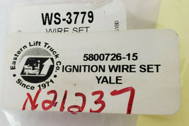 NEW EASTERN LIFT TRUCK YALE 5800726-15 IGNITION WIRE SET WS-3779 *INCOMPLETE* image 2