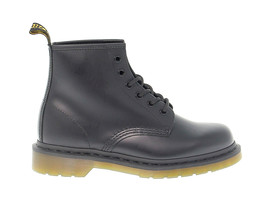 Low boot Dr. Martens 6 EYE BOOT in black leather - $217.00