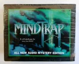 MindTrap All New Double Cassette Audio Mystery Edition 1994 Vintage New ... - $29.58