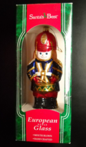 Santa's Best Christmas Ornament 1996 Drummer Boy Blown European Style Glass - $16.99