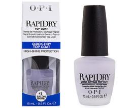 OPI Nail Envy RapiDry Topcoat 15ml image 2