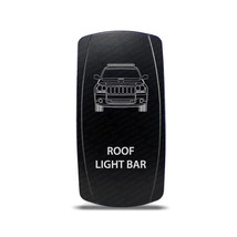 CH4X4 Rocker Switch Jeep Grand Cherokee WK Roof Light Bar Symbol - White... - $16.44