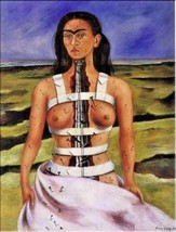 Frida Kahlo OIL PAINTING ON CANVAS Classic wall decor The Broken Column ... - $26.72