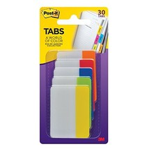 Post-it Tabs, 2 in, Rio de Janeiro Collection, Sticks Securely, Removes ... - $7.41 CAD