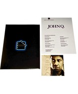 2002 Movie JOHN Q PRESS KIT 10 Photo CD-ROM Production Notes & Folder - $12.99