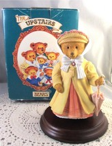 Dept 56 Figurine Mrs. Henrietta Bosworth Socialite Upstairs Downstairs Bear - $11.00