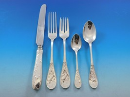 Audubon by Tiffany Co. Sterling Silver Flatware Set Service 47 Multi Mot... - $8,500.00