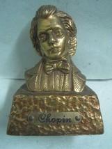 Antique bust Figures Figurine bronze Chopin - $32.38