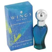 WINGS by Giorgio Beverly Hills Mini EDT Spray .25 oz (Men) - $11.11