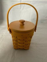 2001 Longaberger Horizon Hope Basket Combo Woodcraft Lid and Plastic Pro... - $26.17