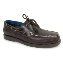 Timberland Men's Piper Cove Full Grain Leather Dark Brown Boat Shoes A19... - $89.99