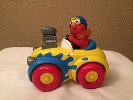 Tyco Elmo Push and Go Race Car 1998 Preschool Toy Sesame Street Jim Hens... - $25.99