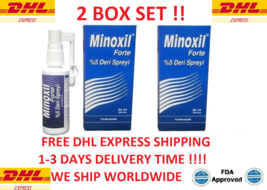 MINOXIL Hair Loss Regrowth Spray Hair Loss Men %5 FDA Approved 2 Oz. Exp... - $55.17+