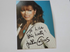 JACKIE COLLINS OBE HAND SIGNED AUTOGRAPHED PHOTOGRAPH MINT COA - $13.45