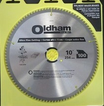 "Oldham 100100TP 10"" x 100T Ultra Fine Cutting Saw Blade - $25.74"