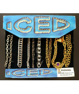 Vintage Iced Iced Gumball Vending Machine Charms Header Display Card #359 - £35.99 GBP