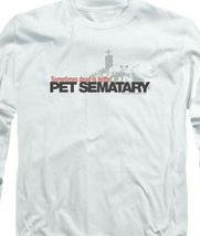 Stephen Kings Pet Sematary Retro 80's Horror long sleeve graphic t-shirt PAR293 image 3