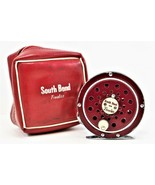 South Bend Finalist #1133 Fly Reel With Original Pouch Vintage Fishing Reel - $51.47