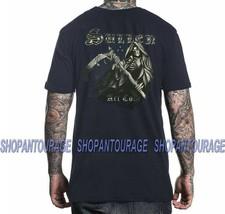 Sullen Marina Reaper SCM3106 Short Sleeve Graphic Tattoo Skull T-shirt For Men - $29.35+