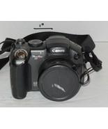 Canon PowerShot S3 IS 6.0MP Digital Camera - Black 12x Optical Zoom - $74.25