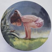 Donald Zolan Small Wonder Collector Plate Porcelain - $21.99