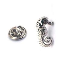 seahorse Lapel Pin Badge / tie pin. in gift box Seahorse