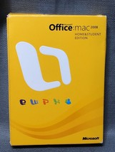 Microsoft Office 2008 for Mac Home and Student Edition - $12.00