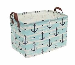 Rectangular Canvas Storage Bins,Waterproof Storage Basket,Collapsible To... - $14.44