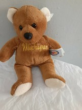 Mary Meyer Michigan Bear Plush Toy 7 Inch - $9.85