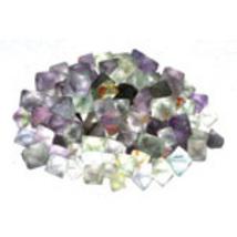 1 lb Fluorite octahedrons bulk gemstone lot - $75.00