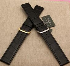 New Gucci 22 MM Genuine Black Croco Band - Generic Clasp (22.106C-BLK) - $39.95