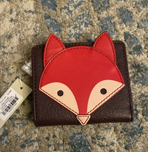 Fossil Mini RFID Women's Leather Wallet - Brick Red - $29.02
