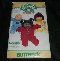 Vintage Chou Patch Enfants Butterick Poupée Vêtements Motif Cousue Couture #329 - $13.47