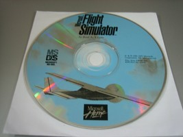Microsoft Flight Simulator for MS-DOS (PC, 1995) - Disc Only!!!! - $5.93