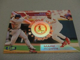 1998 Fleer Ultra Double Trouble #13 Mark McGwire/Ray Lankford St.Louis Cardinals - $3.12