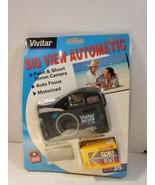 NOS NEW VIVITAR Big View BV35 Auto Focus Point & Shoot Camera WITH FILM ... - $25.34