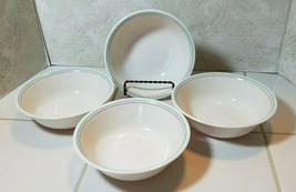"Corelle Forever Yours 6-1/4"" Cereal Bowls Soup Salad Set of 4 - $9.85"