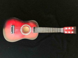 UKELELE Red / Black wood STRING INSTRUMENT - $23.76