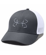 Under Armour Performance Fish Hunter Graphite M/L Stretchfit Fitted Cap ... - $23.75